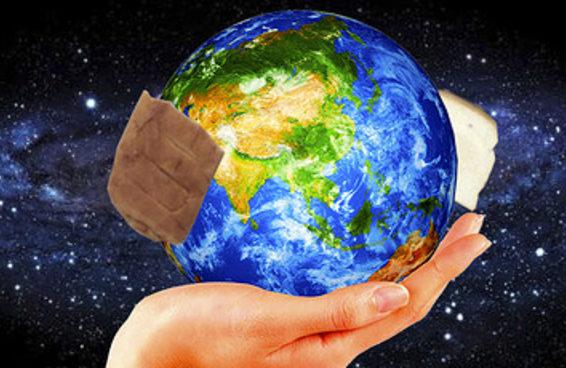 Estas duas pessoas conseguiram fazer um sanduíche da Terra