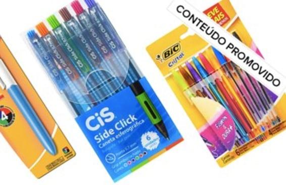 9 canetas baratinhas para comprar na Amazon