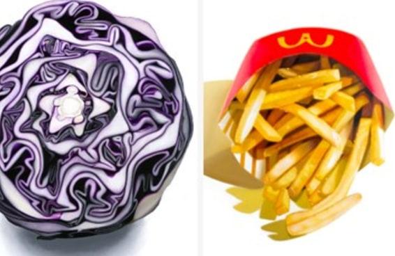 Essas pinturas hiper realistas de alimentos do dia-a-dia são muito gostosas de se ver