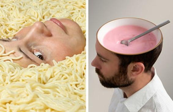 Sua reação a estas fotos bizarras de comida revelará sua idade emocional