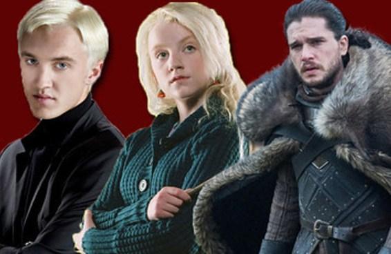 """A qual casa meio """"Game of Thrones""""/meio """"Harry Potter"""" você pertence?"""