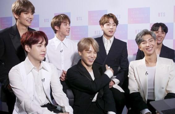 """Os meninos do BTS fizeram o teste do BuzzFeed """"qual membro do BTS você é"""""""