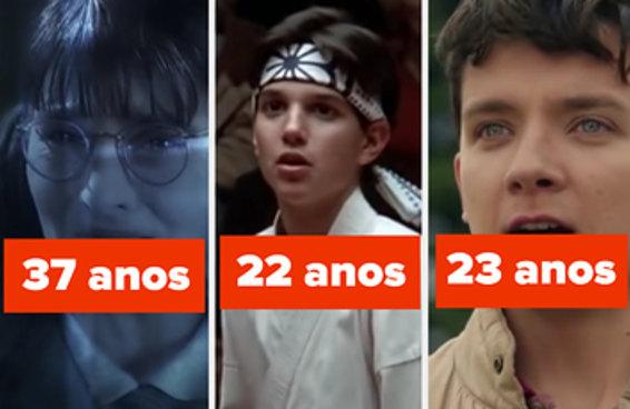 26 atores adultos que se passaram por adolescentes e nos enganaram perfeitamente