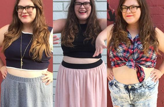 Usei blusas cropped sendo plus size por uma semana e isso foi o que aconteceu