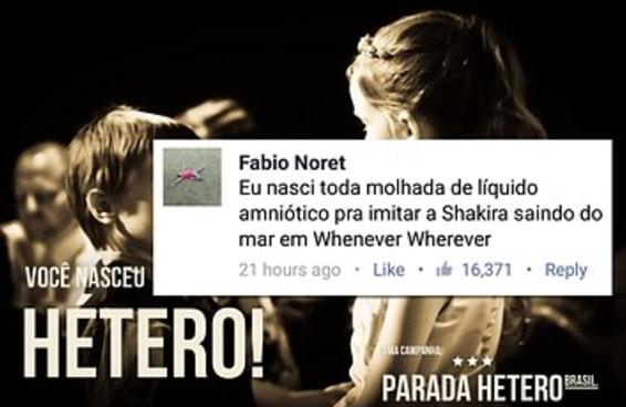 """Gays invadiram um post de """"orgulho hétero"""" e foi gostoso demais"""