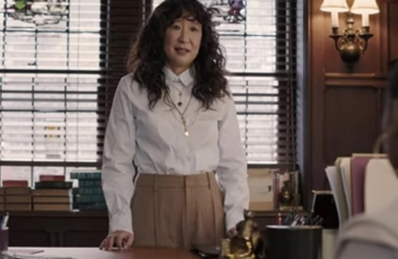 15 looks da Sandra Oh em 'The Chair' que são de babar de inveja