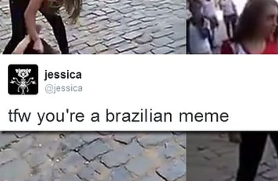 Uma gringa tem sido atormentada no Twitter por causa do meme Jessica