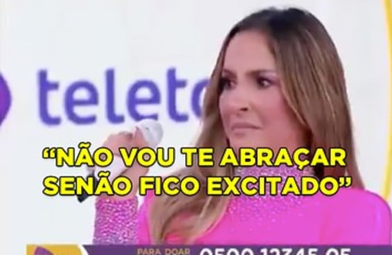 """Ser """"de outra época"""" não justifica o Silvio Santos ter assediado a Claudia Leitte em pleno Teleton"""