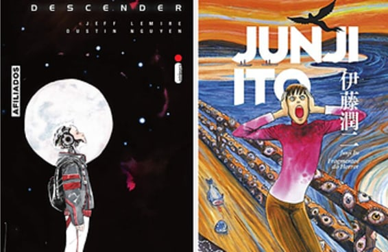 12 dos quadrinhos e mangás mais populares da Amazon no momento