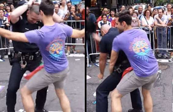 Você precisa ver este vídeo do policial gato da Parada Gay de NY