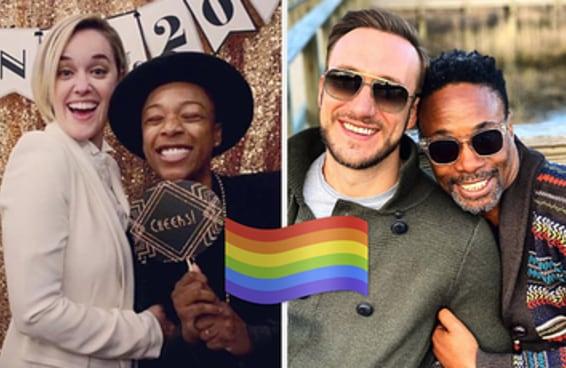 Aqui estão 45 casais formados por pessoas LGBTI+ famosas