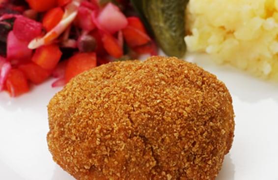 O frango à Kiev é um prato muito tradicional das culinárias russa e ucraniana