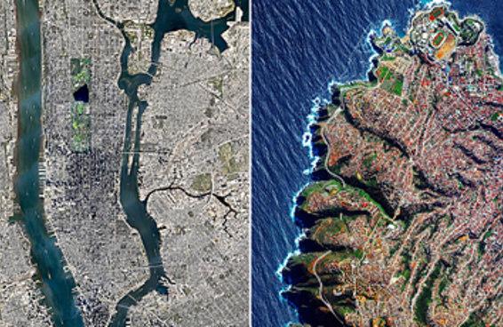 19 vistas aéreas incríveis pra quem está com saudades de ver o mundo