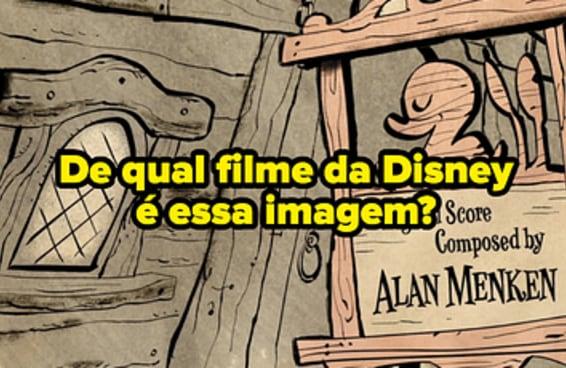 Você consegue identificar o filme da Disney com apenas uma imagem dos créditos finais?