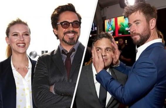 101 fotos divertidas que os atores da Marvel tiraram na última década