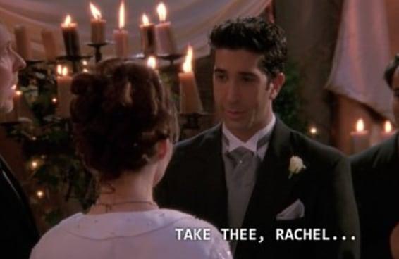 É hora de admitir que a Emily estava certa em toda aquela confusão com o Ross e a Rachel