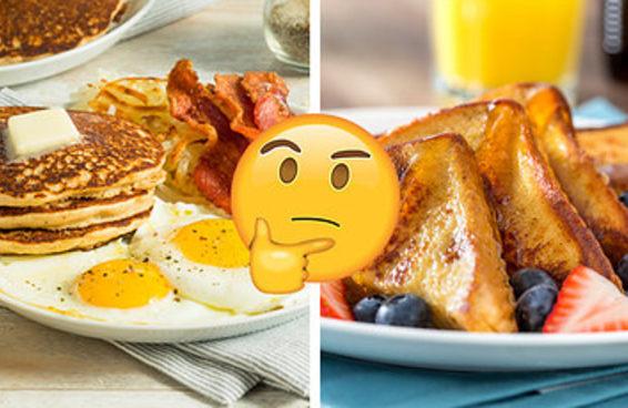Tome um café da manhã infinito e diremos um traço dominante da sua personalidade