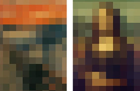 Você consegue identificar estas pinturas famosas pixelizadas?