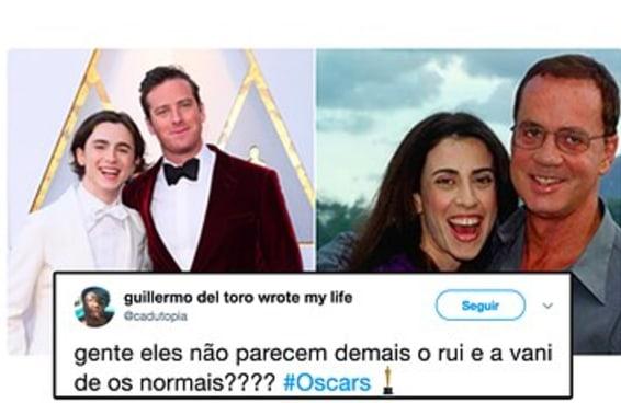 20 tuítes que mereceriam ganhar o Oscar 2018