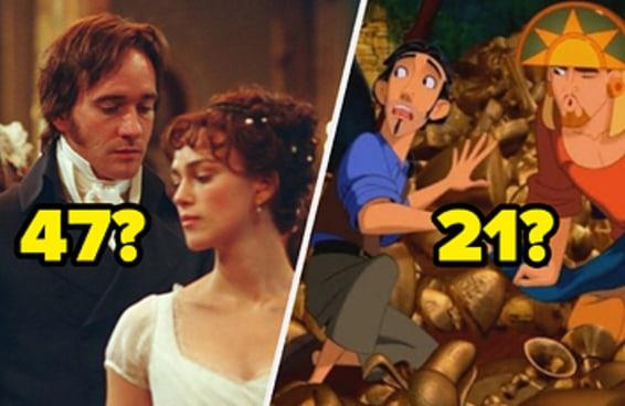 Adivinhamos sua idade com 8% de precisão com os filmes de época que você escolher
