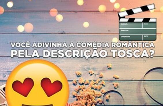 Você consegue adivinhar a comédia romântica pela descrição tosca?