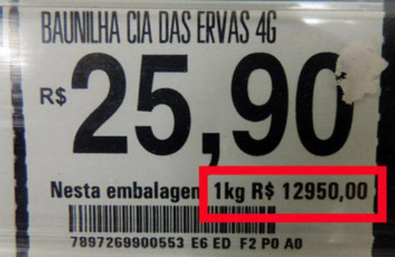 13 motivos para você nunca olhar os preços dos temperos por quilo