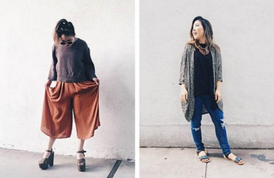 Eu quebrei todas as regras da moda para mulheres baixinhas