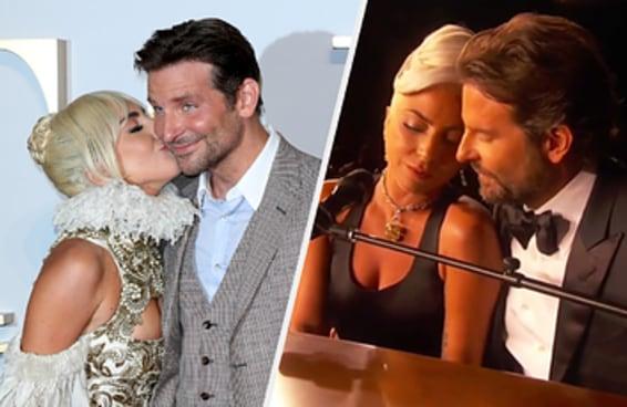 Lady Gaga disse que queria que o mundo acreditasse que ela e Bradley Cooper estavam apaixonados no Oscar