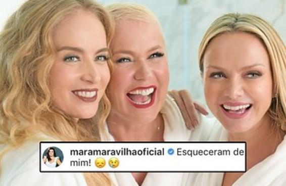 Quem é você neste rolê da Xuxa, Angélica, Eliana e Mara Maravilha?