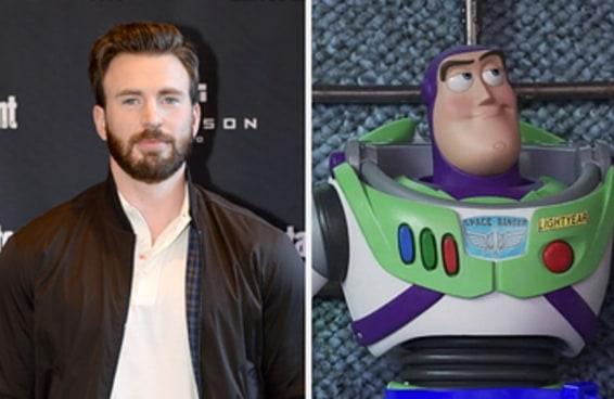 Chris Evans vai interpretar Buzz Lightyear em um novo filme da Disney