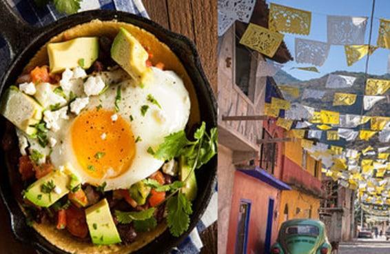 Qual cidade internacional você deveria visitar de acordo com as suas preferências de comida?