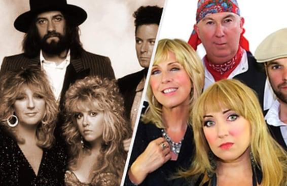 O pessoal comprou ingresso pra ver o Fleetwood Mac mas acabou vendo o cover do Fleetwood Mac