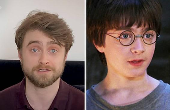 """Daniel Radcliffe leu o primeiro capítulo de """"Harry Potter e a Pedra Filosofal"""" e deixou os fãs emocionados"""