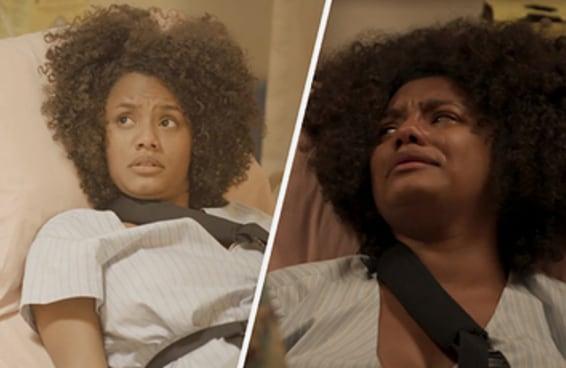 """A cena de """"Amor de Mãe"""" mostrou como é difícil viver com a pressão de ser forte o tempo todo"""