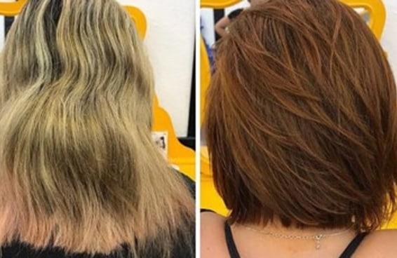 15 antes e depois que vão te dar vontade de mudar o cabelo agora