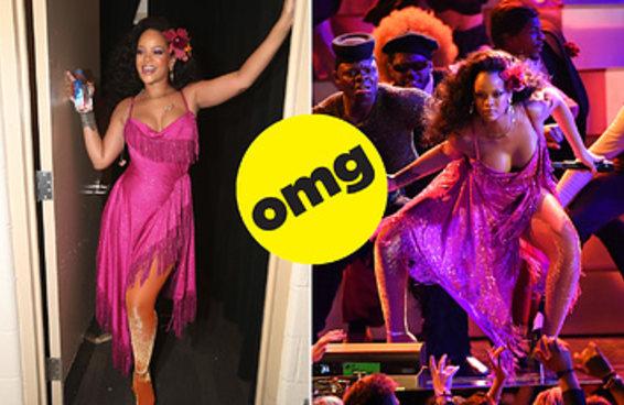 A Rihanna botou pra quebrar no palco do Grammy 2018