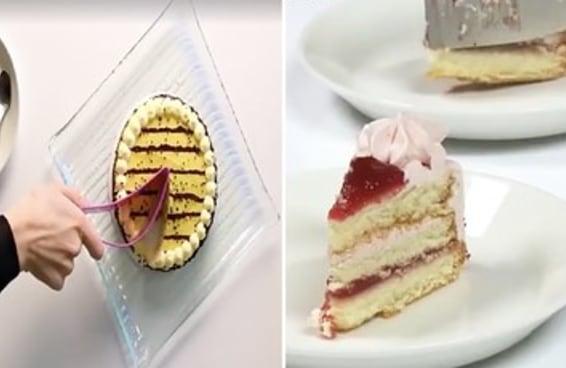 Este cortador de bolo vai fazer você sentir coisas