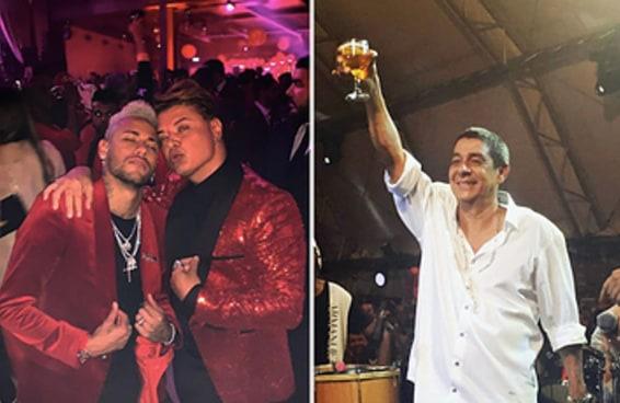 Você seria convidado(a) pro niver do Neymar ou do Zeca Pagodinho?