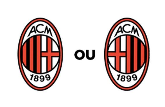 Você sabe dizer qual destes escudos de clubes estrangeiros é o verdadeiro?