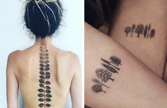 21 tatuagens deslumbrantes para amantes da natureza