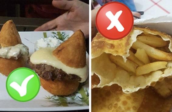 Dê sua opinião sobre estas combinações inesperadas de comida