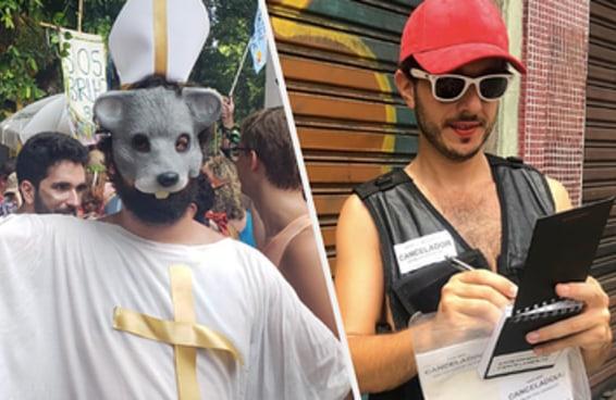 O Carnaval mal começou e já temos fantasias MARAVILHOSAS