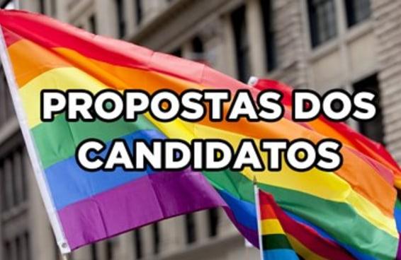 Estas são as propostas de governo de cada um dos presidenciáveis para os LGBTQ