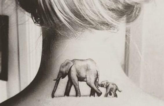 21 tatuagens incríveis de elefantes para te inspirar