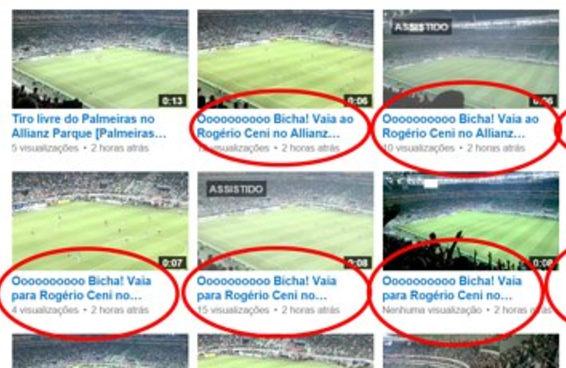 Palmeiras x São Paulo é marcado por ofensas homofóbicas