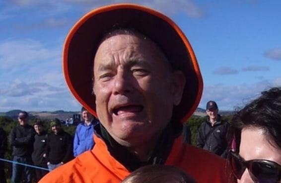 Esta é uma foto de Tom Hanks ou Bill Murray?