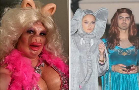 Aqui estão as melhores fantasias de celebridades para o Dia das Bruxas dos últimos 10 anos