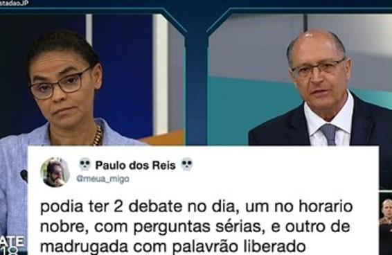 O debate da Gazeta foi tão parado que nem os memes venceram
