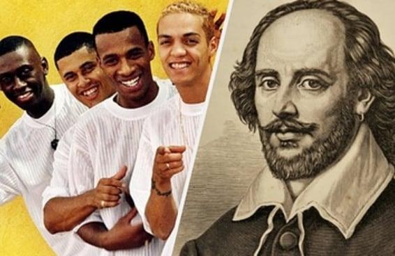 Você consegue acertar quem disse isso: grupo de pagode 90 ou Shakespeare?