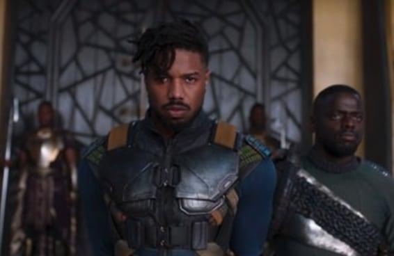 """Aparentemente o corpo de Killmonger de """"Pantera Negra"""" atacou a tripofobia de algumas pessoas"""